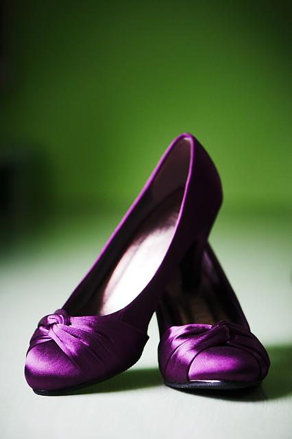piękne buty panny młodej