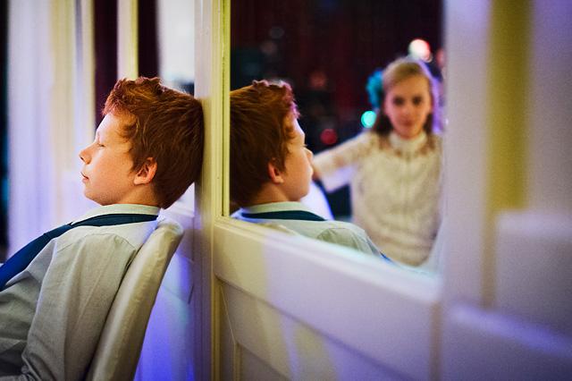 fotografia odbicia w lustrze