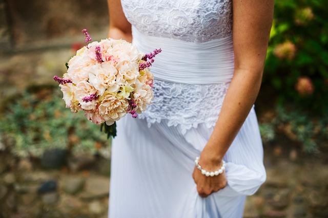zdjęcie bukietu ślubnego