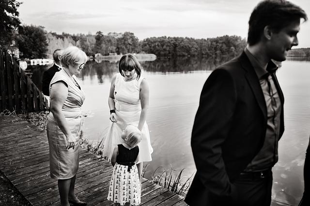 wesele nad jeziorem