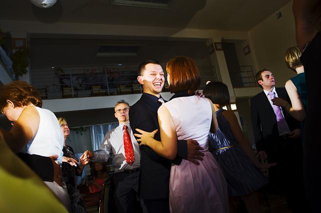 tańcząca para foto