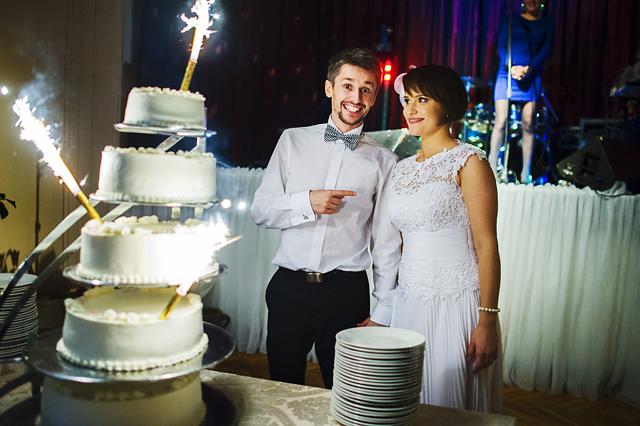 tort weselny zdjęcia
