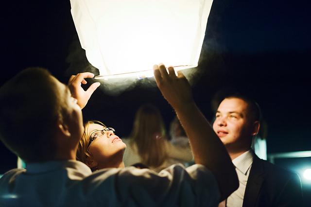 puszczanie lampionów Łagów