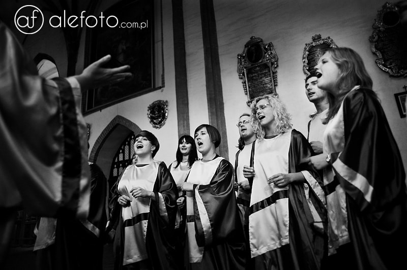 chór gospel na ślubie