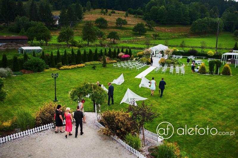 Fotograf na ślub plenerowy