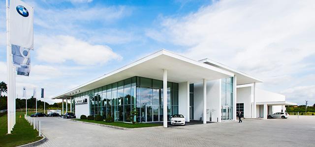 budynek BMW