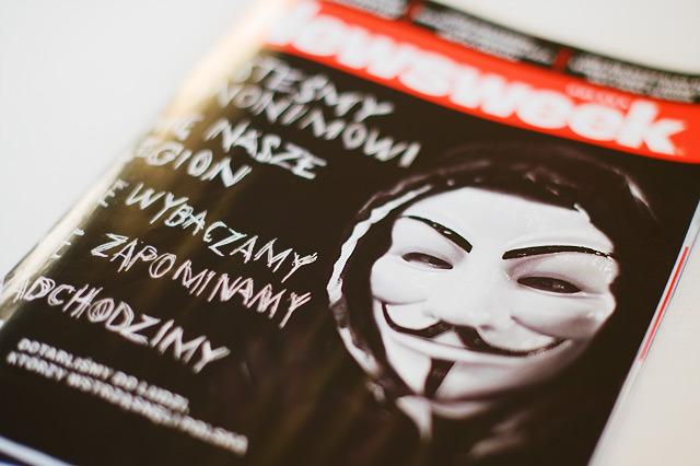 newsweek okładka acta