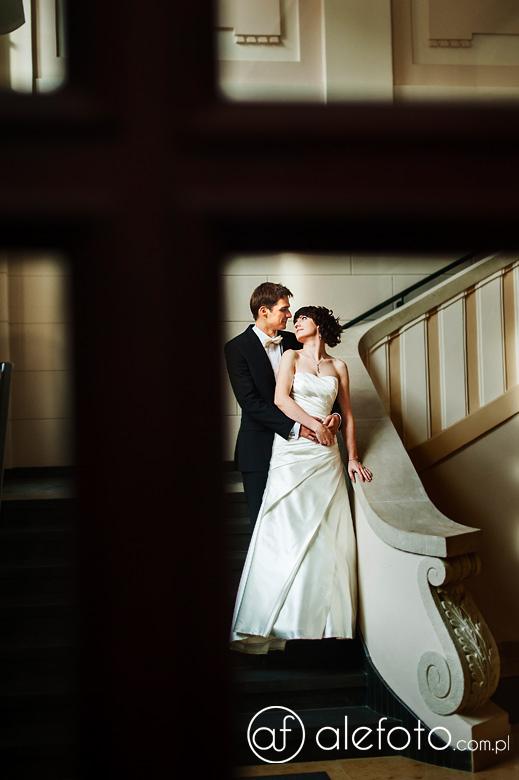 plener ślubny studentów uniwersytetu rolniczego we wrocławiu