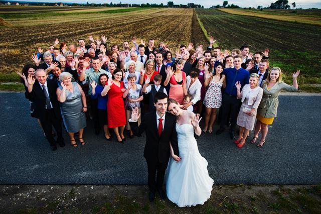 zdjęcie ślubne grupowe