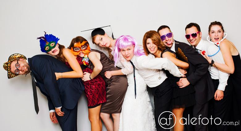 fotobudka na weselu – wybrane ujęcia 9