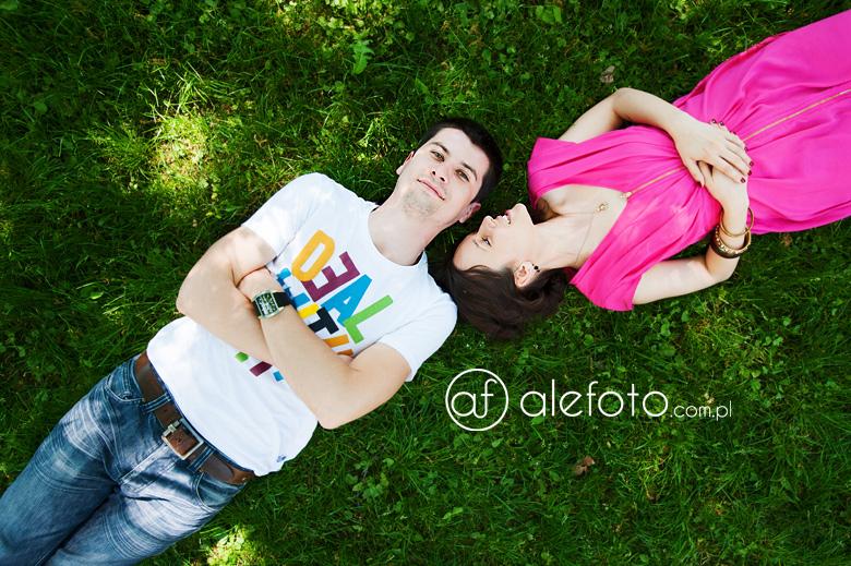 zdjęcia narzeczeńskie – Ela i Bartek