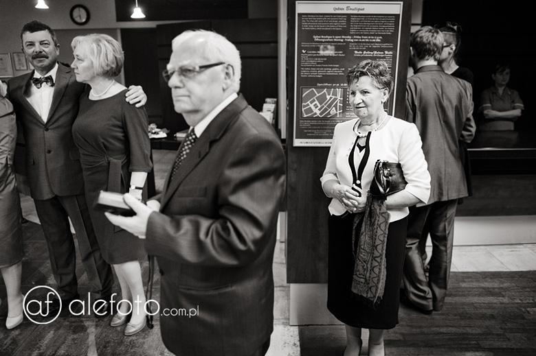 goście ślubni - zdjęcia