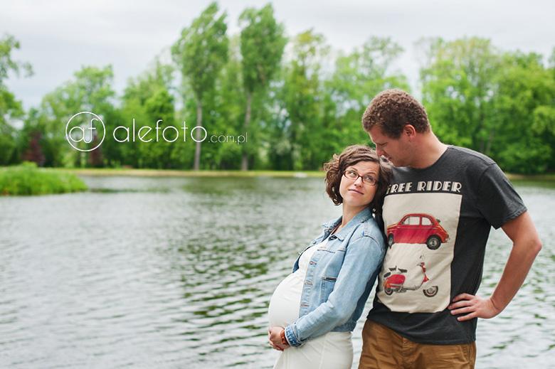 sesja ciążowa Wrocław – zdjęcia dla znajomych