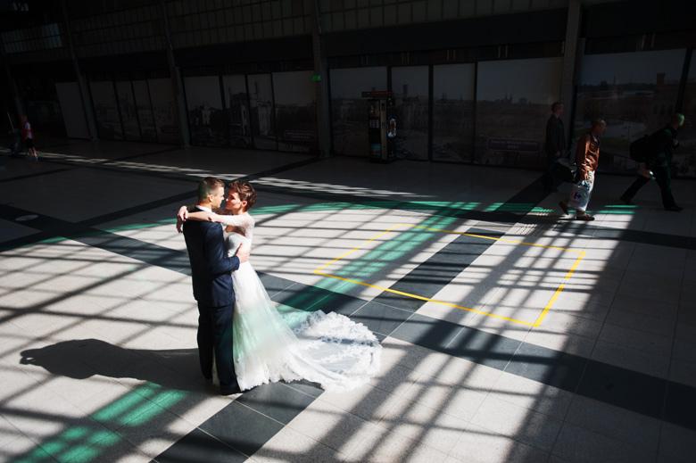 obróbka zdjęcia ślubnego etapami - krok1