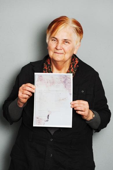 """współorganizatorka wystawy """"Nadodrze z pamięci"""""""