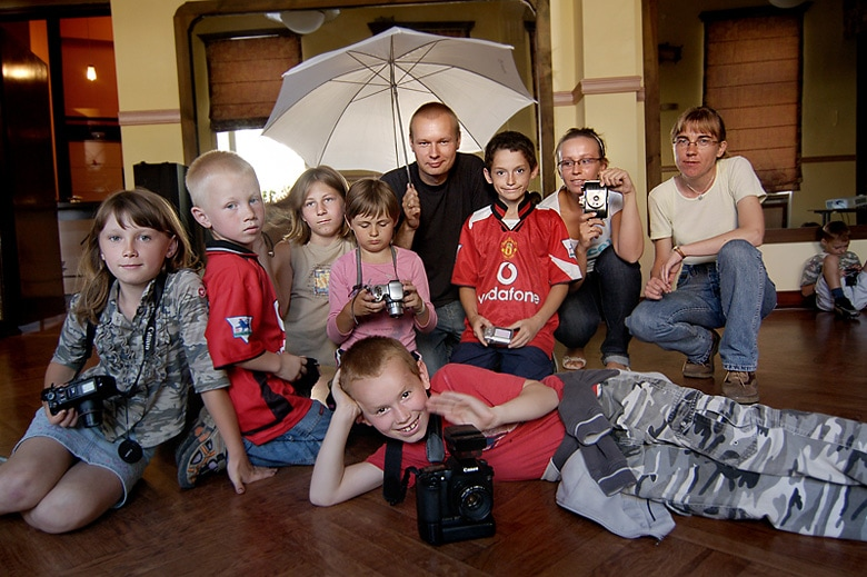 warsztaty fotograficzne z dzićmi z Nadodrza - Wrocław 2008