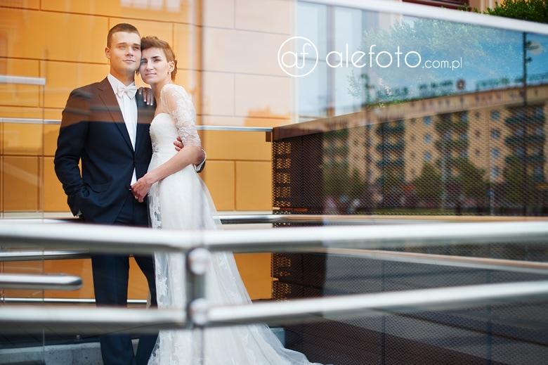 Kasia i Witold - plenerowe zdjęcia ślubne
