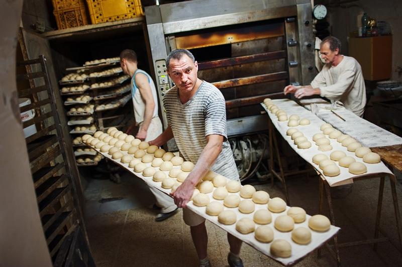 Tłusty Czwartek na Nadodrzu – kilka ujęć z piekarni