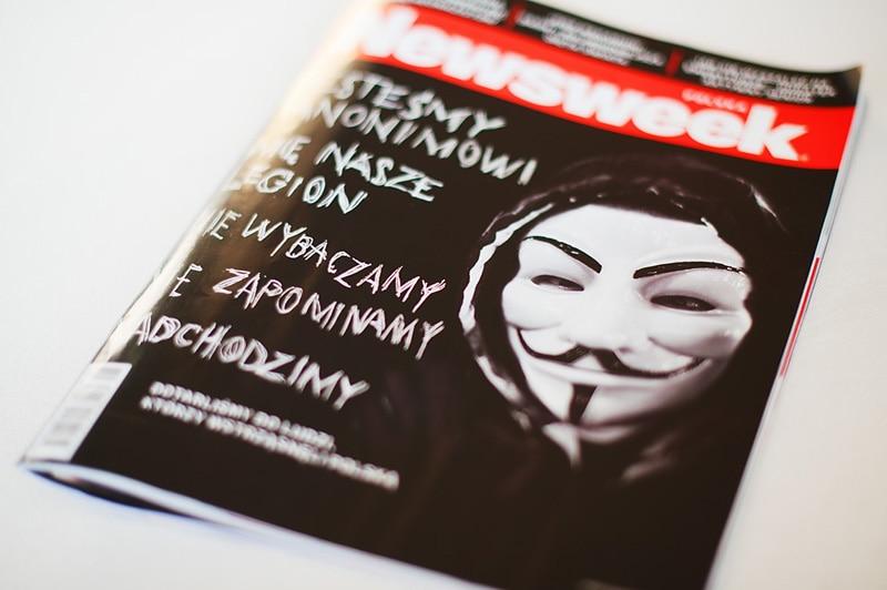 okładka Newsweek'a