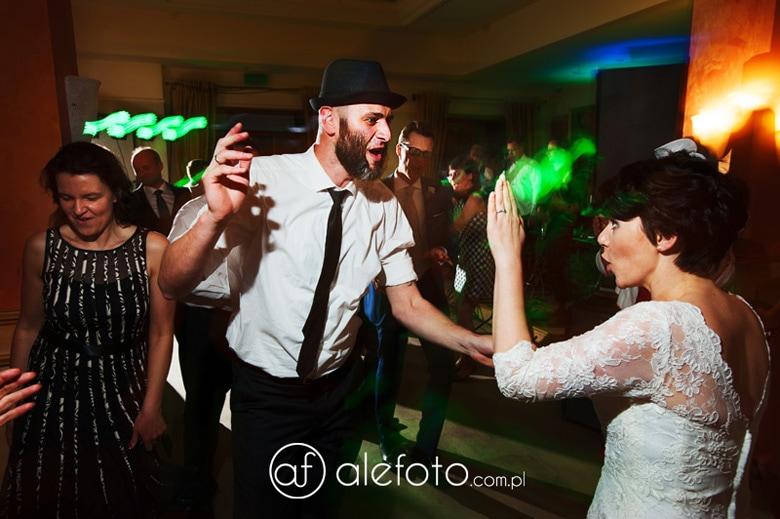 tańczący brodacz