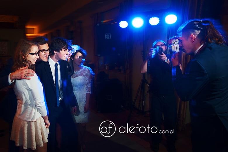 aparat polaroid na weselu