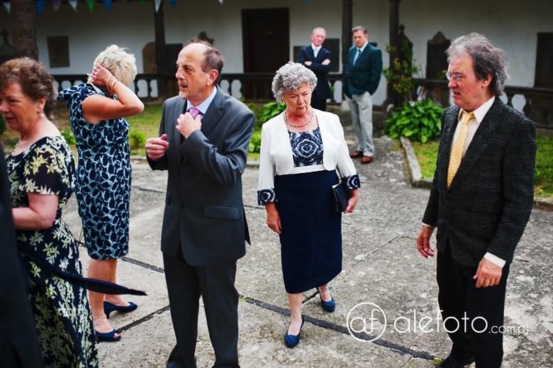 irlandczycy na ślubie