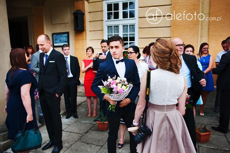 eleganckie wesele goście