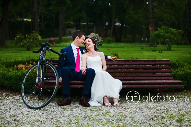 ślub rowerzysty