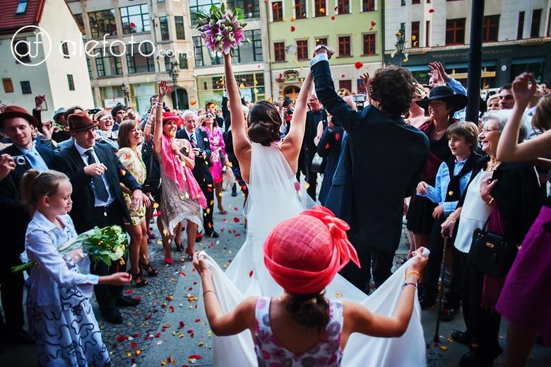 ślub międzynarodowy we wrocławiu - zdjęcia