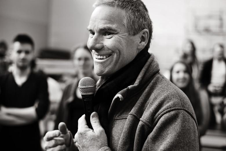 Chris baldwin - prowadzący warsztaty