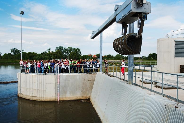 reportaż z projektu - elektrownia wodna