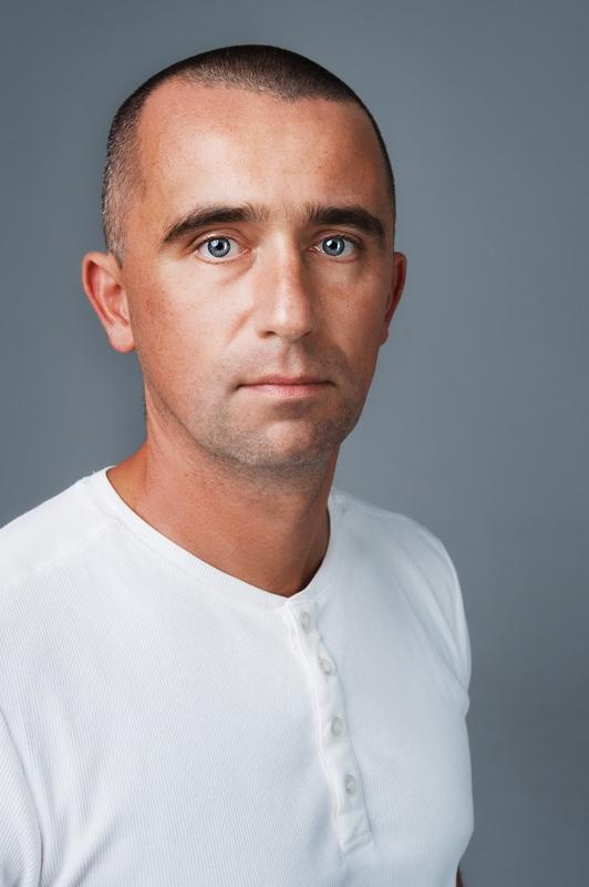 plastyczny portret studyjny