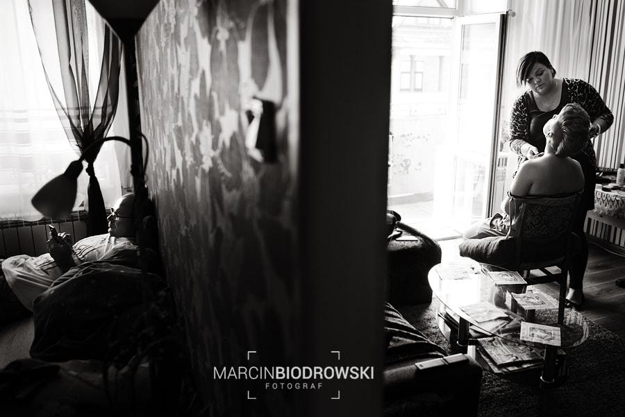 fotoreporter czarno-białe zdjęcia