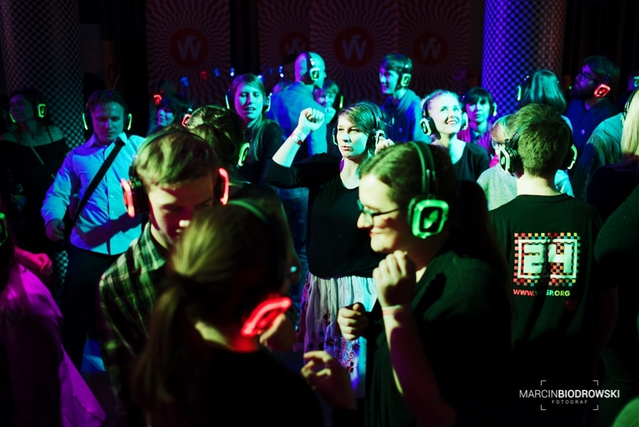 """Silent Disco"" wrocław"
