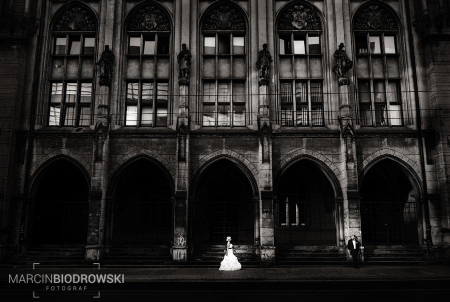 pomysły na plener ślubny Wrocław