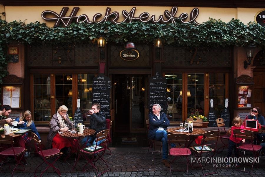 kawiarnia w Heidelbergu