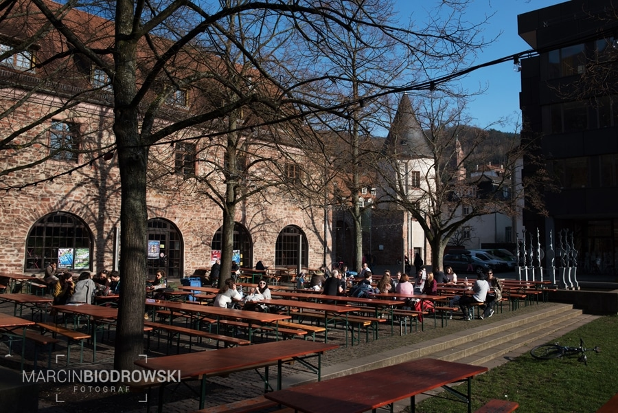 kawiarnia studencka w Heidelbergu
