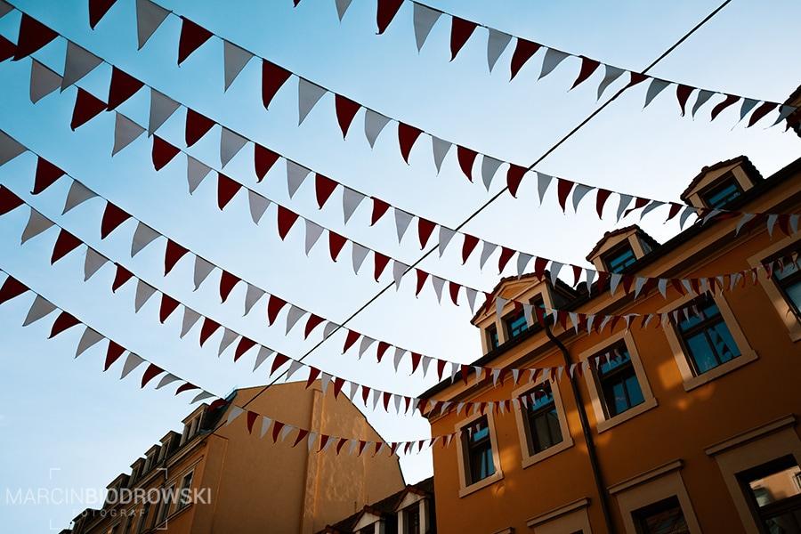 ozdoby na ulicach Drezna