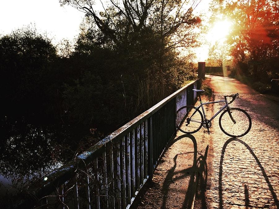 rower początki