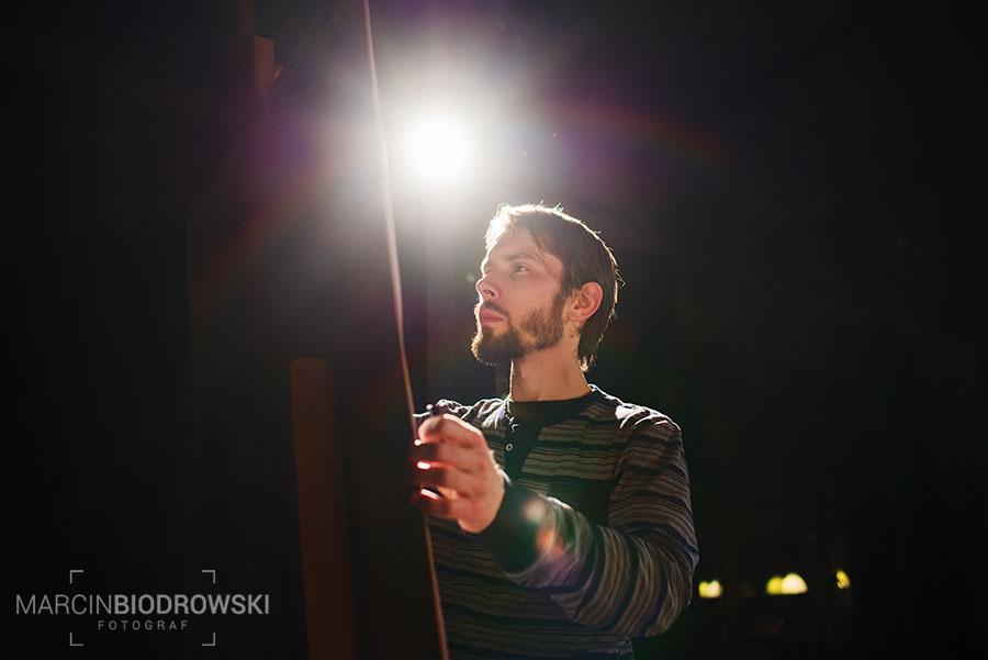 zdjecia pod światło we wnętrzach