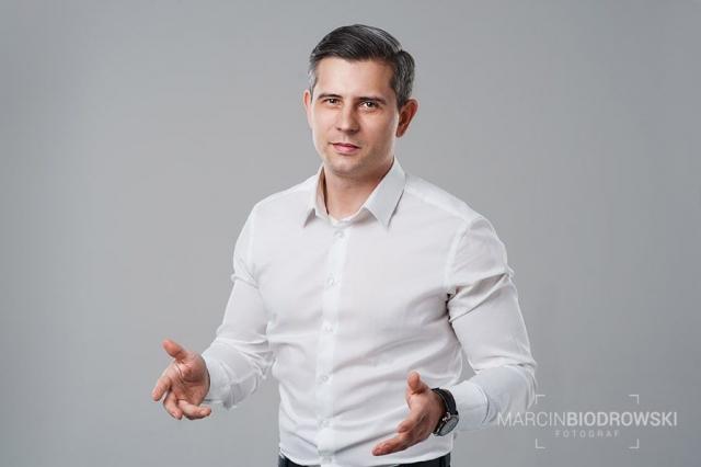 portret biznesowy studyjny - wrocław
