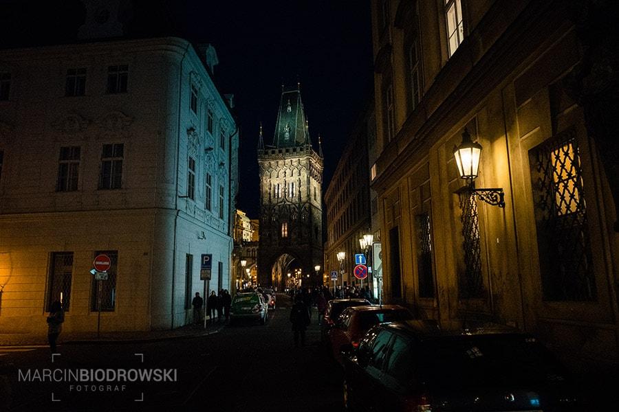 praga nocą - zdjęcia