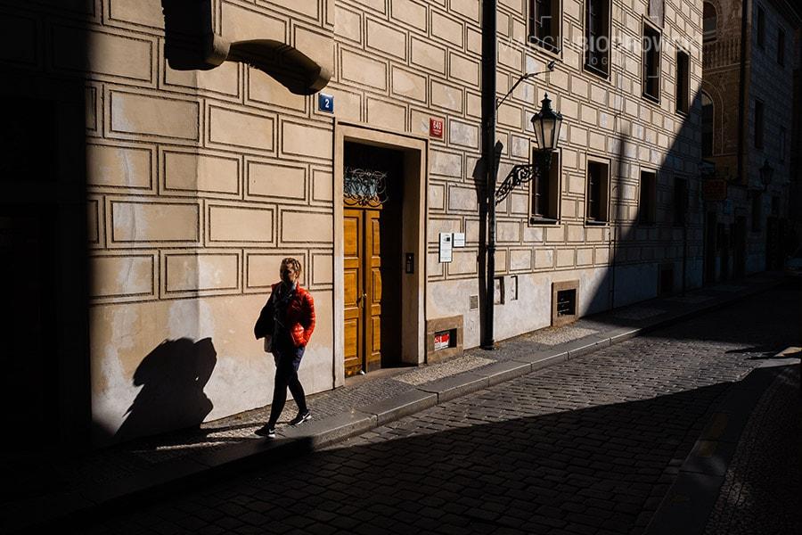 Fotospacer po Pradze