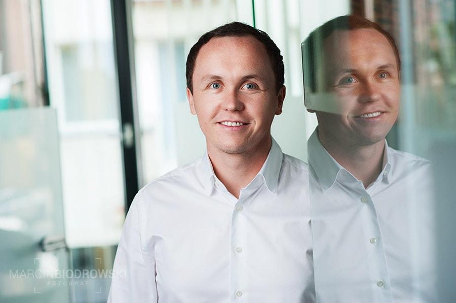 portrety biznesowe w biurze wrocław