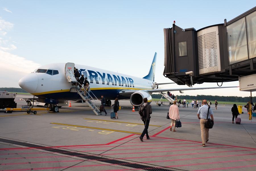 Fotograf na wycieczce - lotnisko