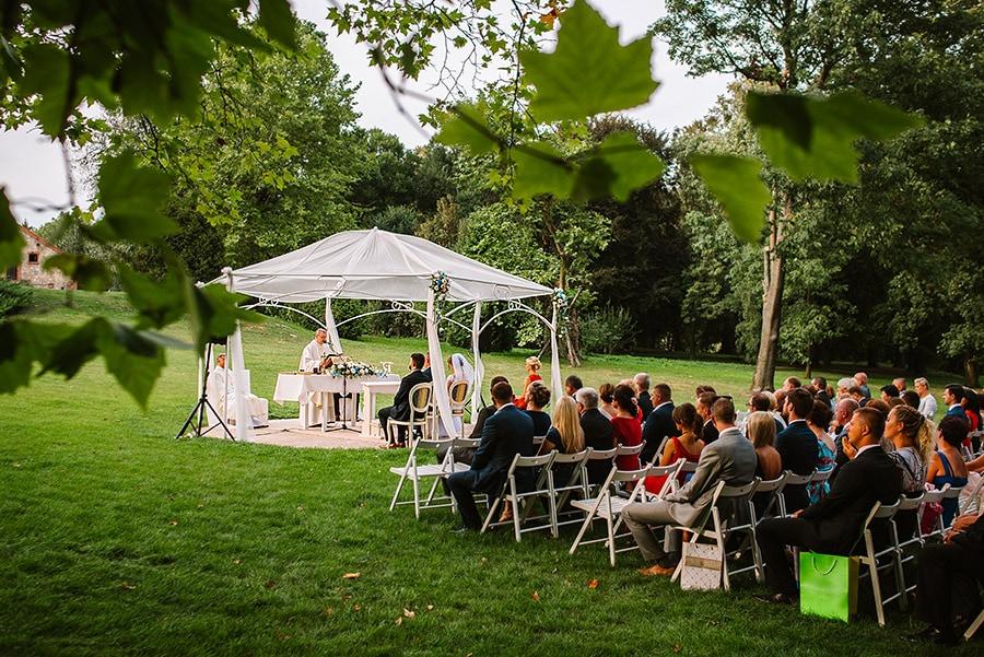 Zdjęcia ślubne z Pałacu Konary w Przewornie | Marcelina i Wojtek