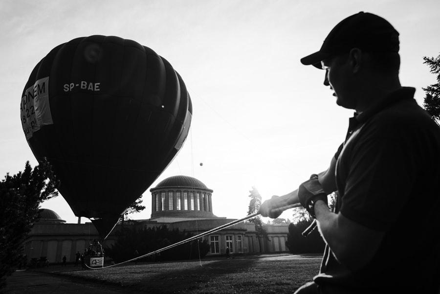 Balon nad Wrocławiem