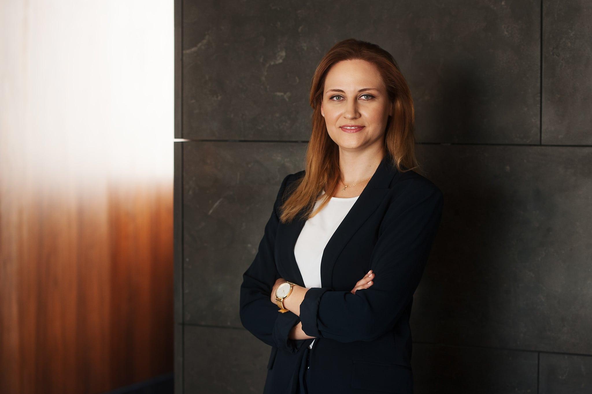 Sesja biznesowa w biurze Wrocław