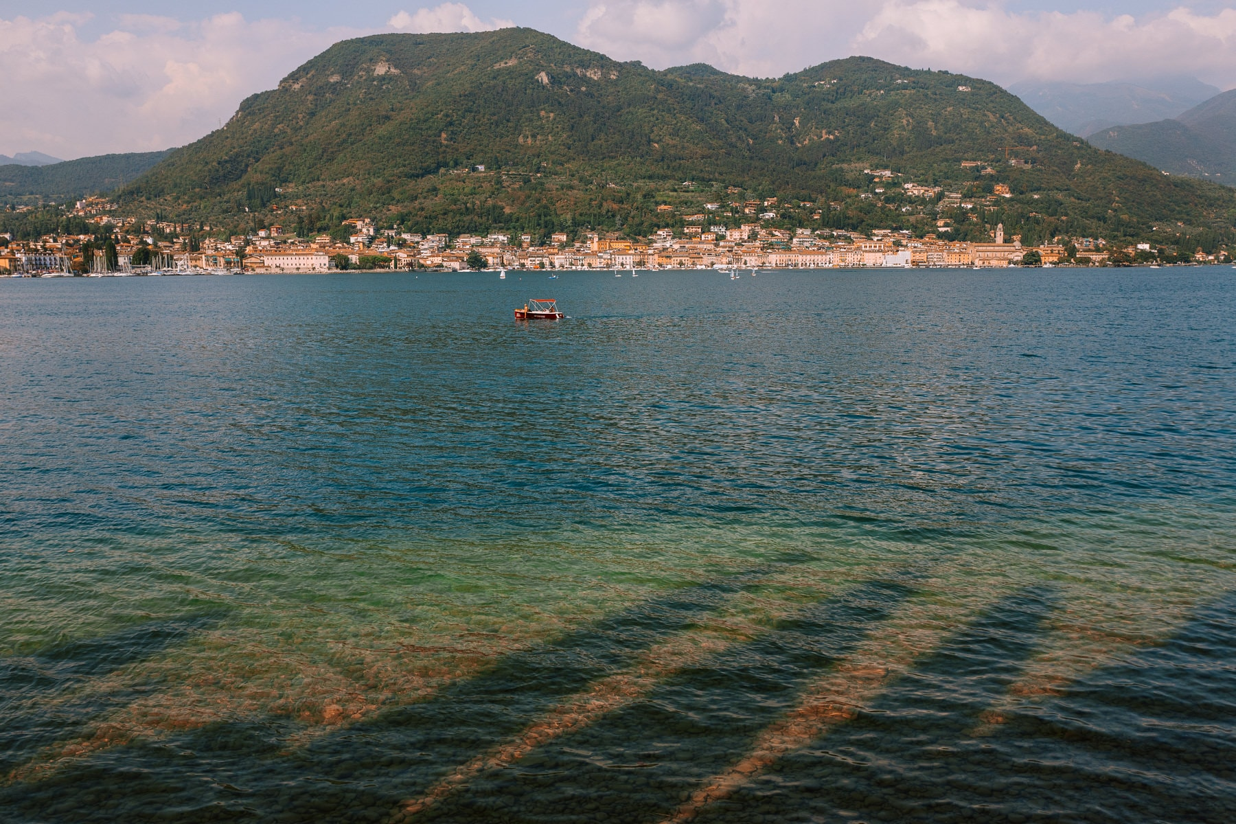 Fotograf jezioro garda