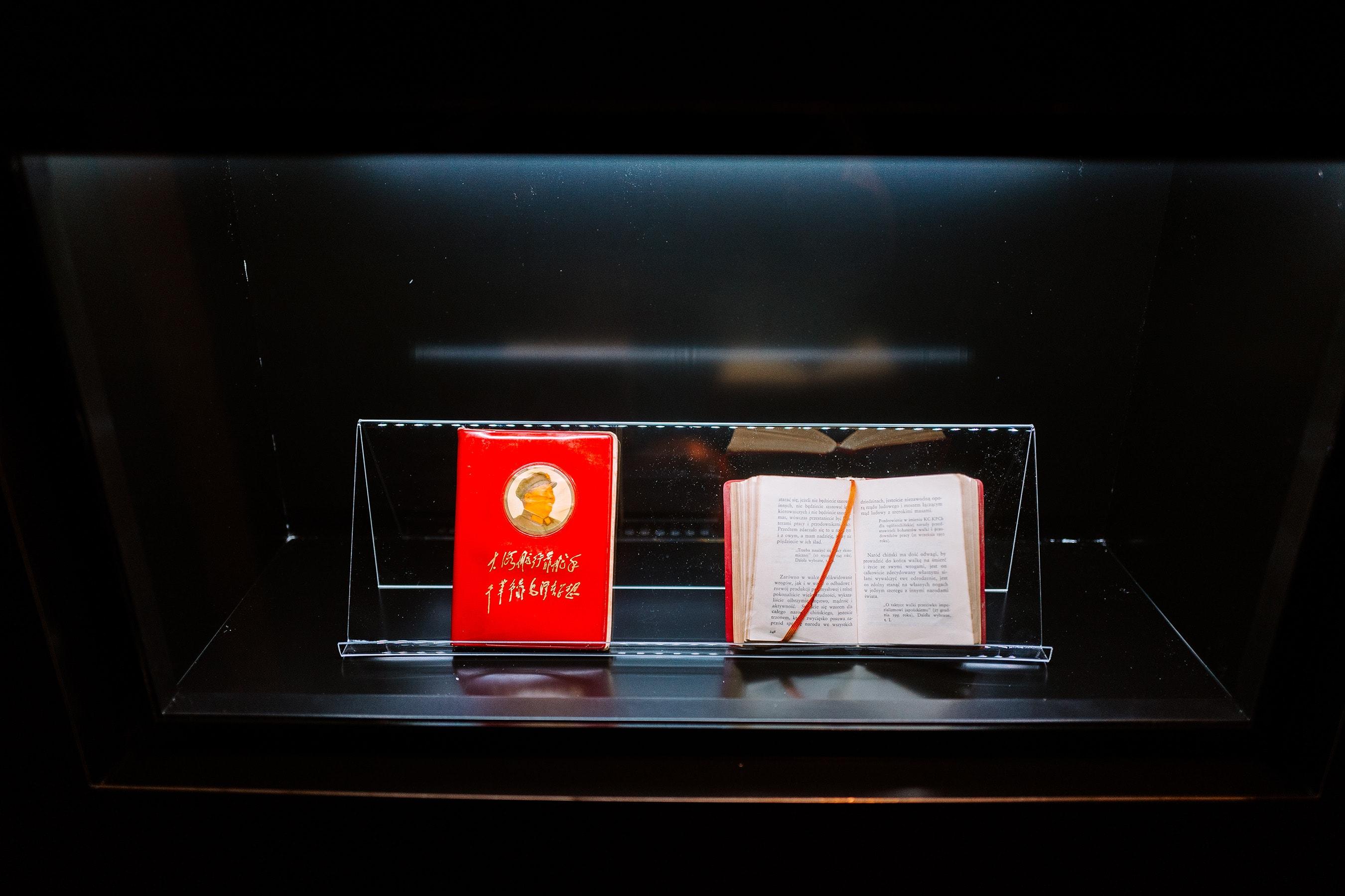 czerwona książeczka mao